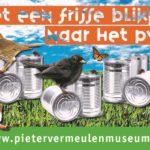 Blik recyclen tijdens museumtour 100 jaar staal in de IJmond