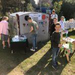 Afval-experience geopend met 50 kinderen van de Franciscus en wethouder Diepstraten
